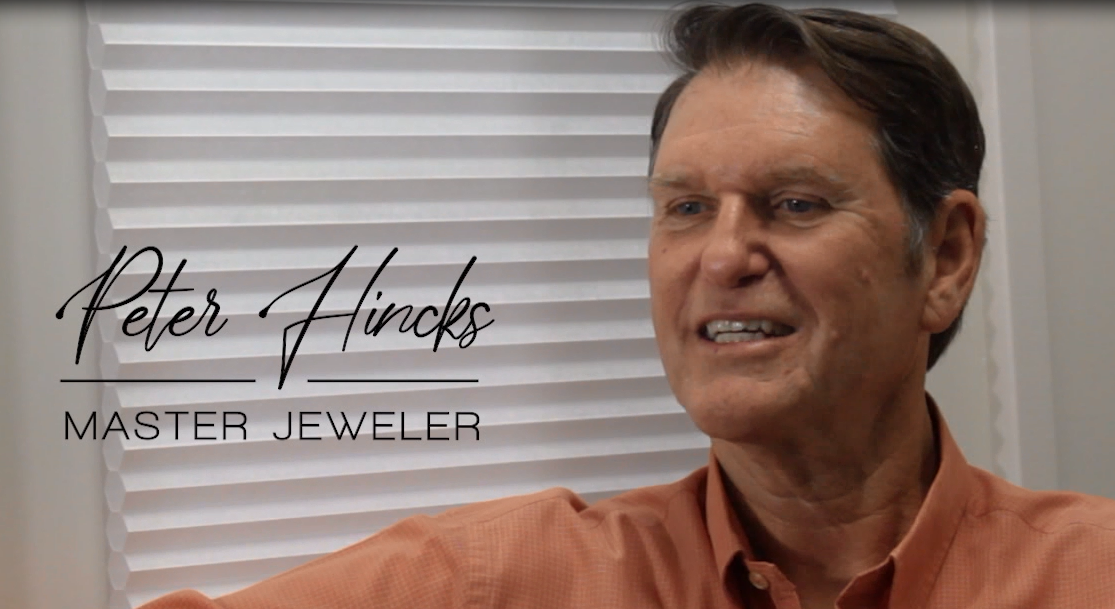 Meet Peter- our head jeweler and shop manager